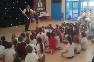 kids magician wexford
